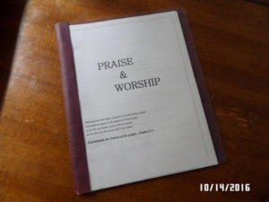 New Praise and Worship Book